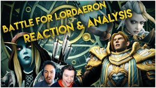 Battle for Lordaeron - Jaina, Horde & Alliance Cinematics | Beyond the Sanctum: Lost Codex Reaction