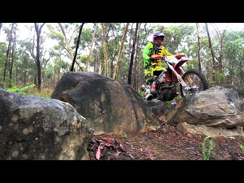KTM 350EXC-F extreme with Adam Riemann