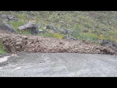 Alud Paso Fronterizo Vergara (Argentina-Chile)