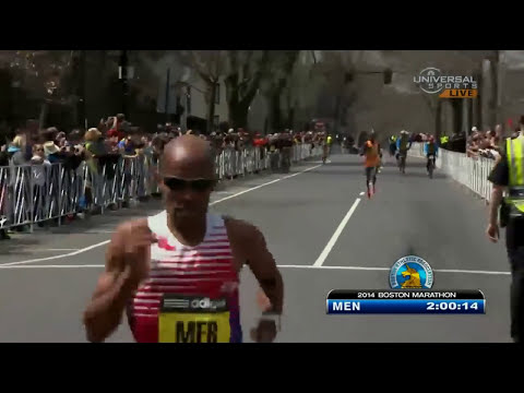 Meb Keflezighi wins 2014 Boston Marathon - Universal Sports