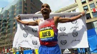 Meb Keflezighi wins 2014 Boston Marathon - Universal Sports