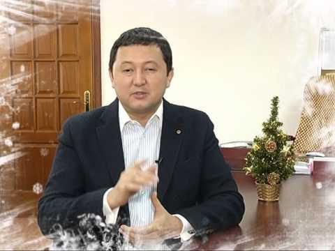 """Поздравление Генерального директора """"31 канала"""" с Новым годом"""