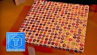 diy individuelle magneten aus kronkorken super einfach selber machen deko kitchen viyoutube. Black Bedroom Furniture Sets. Home Design Ideas
