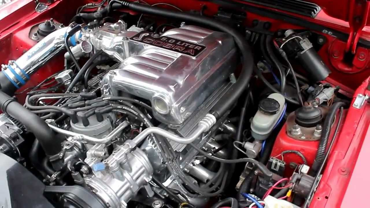 1989 Mustang Gt 5 0 W Afr165 Amp Comp Xe264 Cam Idle And