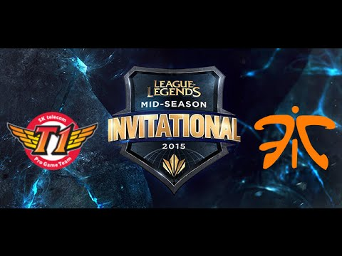 SK Telecom T1 vs Fnatic MSI Knockout   Semifinals Game 4 Highlights