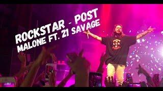 download lagu Post Malone - Rockstar Ft 21 Savage Live Filmore gratis
