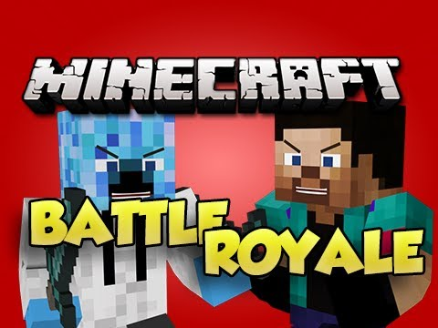 Minecraft: BATTLE ROYALE! w/ NoahCraftFTW