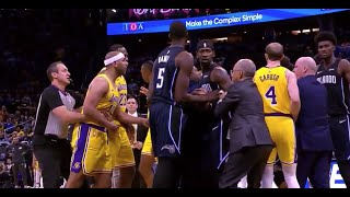 Jared Dudley Wanted Smoke After Dwight Howard Was Shoved In Lakers-Magic Exchange