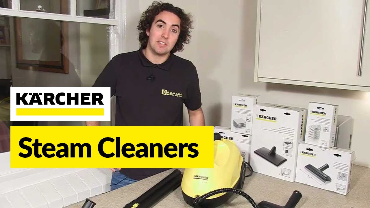 Benefits Of Steam Cleaning Karcher Youtube