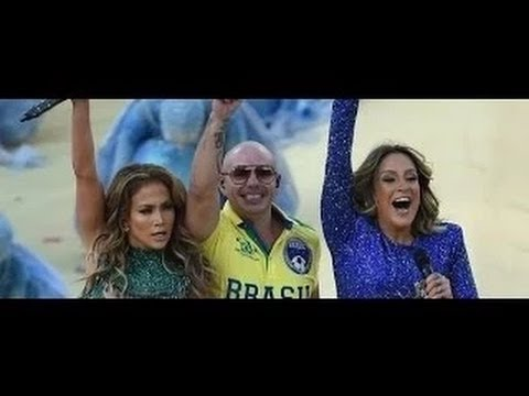 Pitbull ft. Jennifer Lopez & Claudia Leitte - We Are One (Ole Ola) LIVE from Sao Paolo