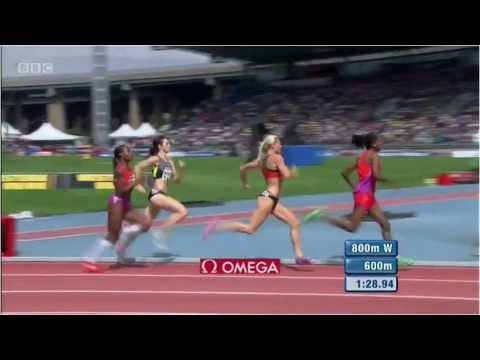 Women 800m New York Grand Prix Diamond League 2012