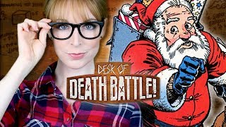 Santa is the Strongest Mutant EVER | The Desk of DEATH BATTLE