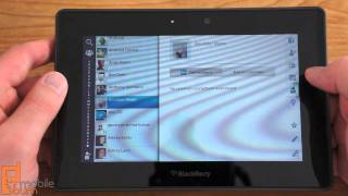 BlackBerry PlayBook OS 2.0 update video tour