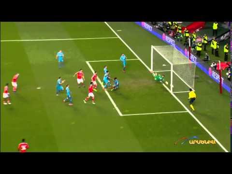 Andre Villas-Boas Amazing Goal - Benfica - FK Zenit 1-0 - Champions League 2016 1/8 - 16.02.16