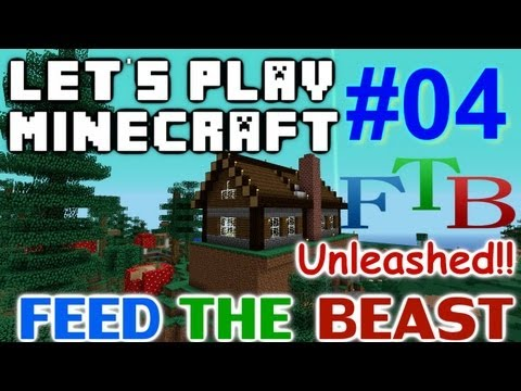 Let's Play Minecraft FTB Hermit Unleashed Ep 4 - Home Sweet Home