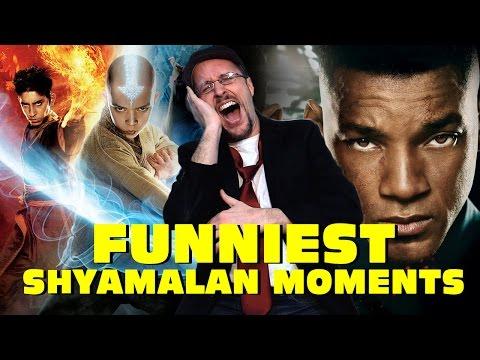 Top 11 Funniest Shyamalan Moments – Nostalgia Critic