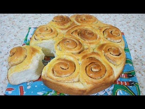 Пышные сдобные булочки