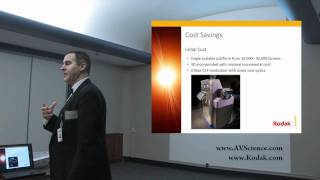Kodak Laser Projector - Cost Savings