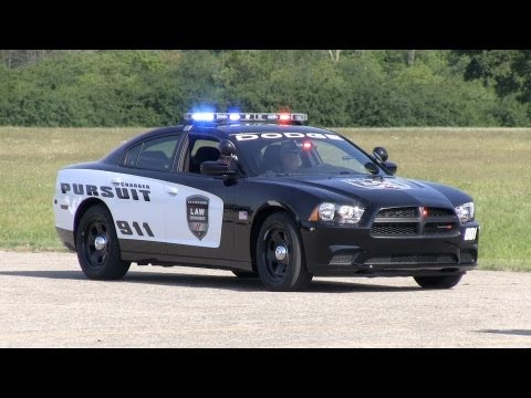 Exposed: Dodge Police Charger Pursuit HEMI 0-60 MPH performance test & preview