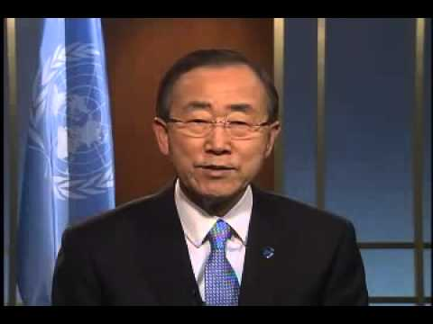 WorldLeadersTV    EDUCATION for ALL   U N  SECRETARY GENERAL BAN KI MOON