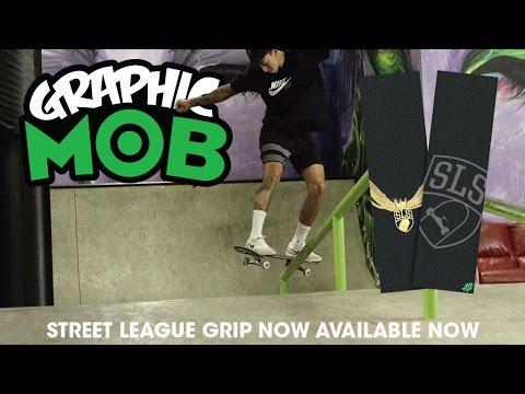 MOB Grip: Nyjah Huston Skates Street League Graphic MOB