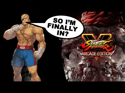 SFV Arcade Edition Trailer Overview, New V-Triggers & Extra Battle Mode