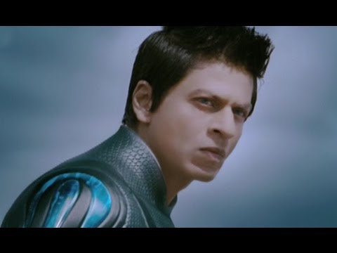 Shahrukh Khan Rescues Kareena Kapoor - Ra.one video