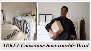 ARKET SUSTAINABLE TRY-ON HAUL SPRING 2020 | INSPIRED BY IDA |