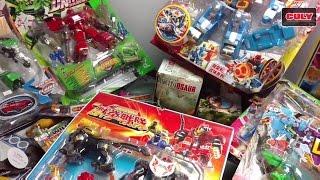 Culy Shopping mở thùng đồ chơi thứ 2 rất nhiều siêu nhân robot khủng long lego pokemon đẹp