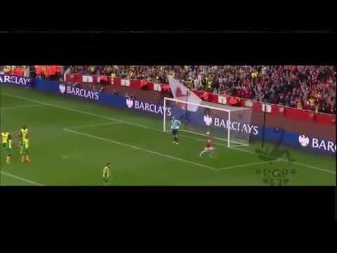 Jack Wilshere Tiki Taka Goal vs Norwich Arsenal 4-1 Norwich City 2013_ of the world