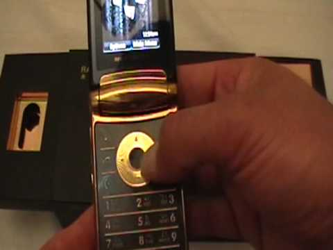 Motorola RAZR2 V8 Gold by SuperRey's Exotics