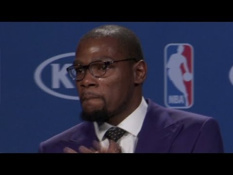Kevin Durant in tears: Mom is the 'real MVP'