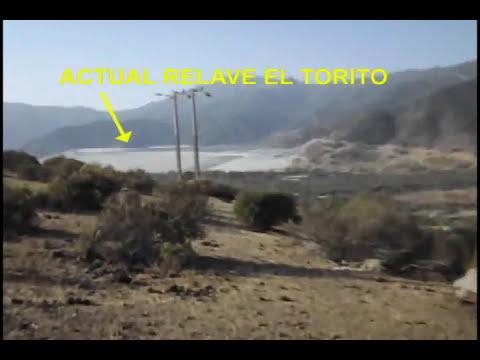 Contaminacion Minera angloamerican en El Melon