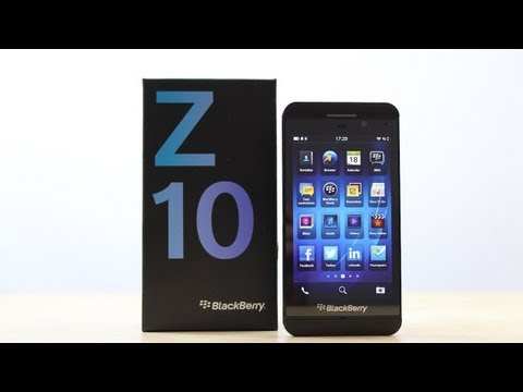 Review: Blackberry Z10 (Deutsch)   SwagTab