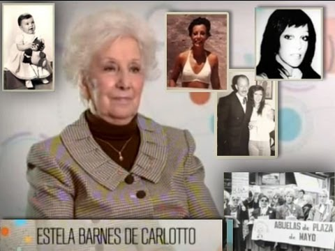 Nietos, historias con identidad - La abuela Estela de Carlotto