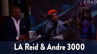 Andre 3000 Drops by the Studio! 6/7 | KiddNation
