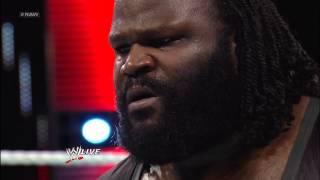Sin Cara vs. Mark Henry: Raw, Feb. 18, 2013