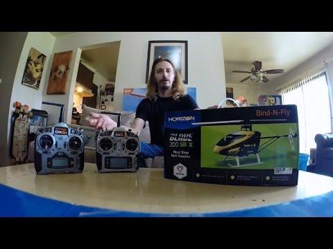 Blade 200SRX Review & Flight Mode Test