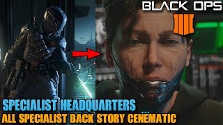 Call Of Duty: Black Ops 4 - All Specialists back story - Spectre's identity revealed-BO4 Specialist
