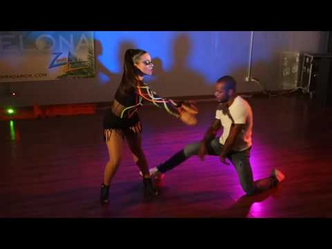 00075 ZLBF2016 Artistic Performance by Jessica Lamdon and William Dos Santos ~ video by Zouk Soul