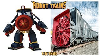 Robot Trains Characters in Real Life