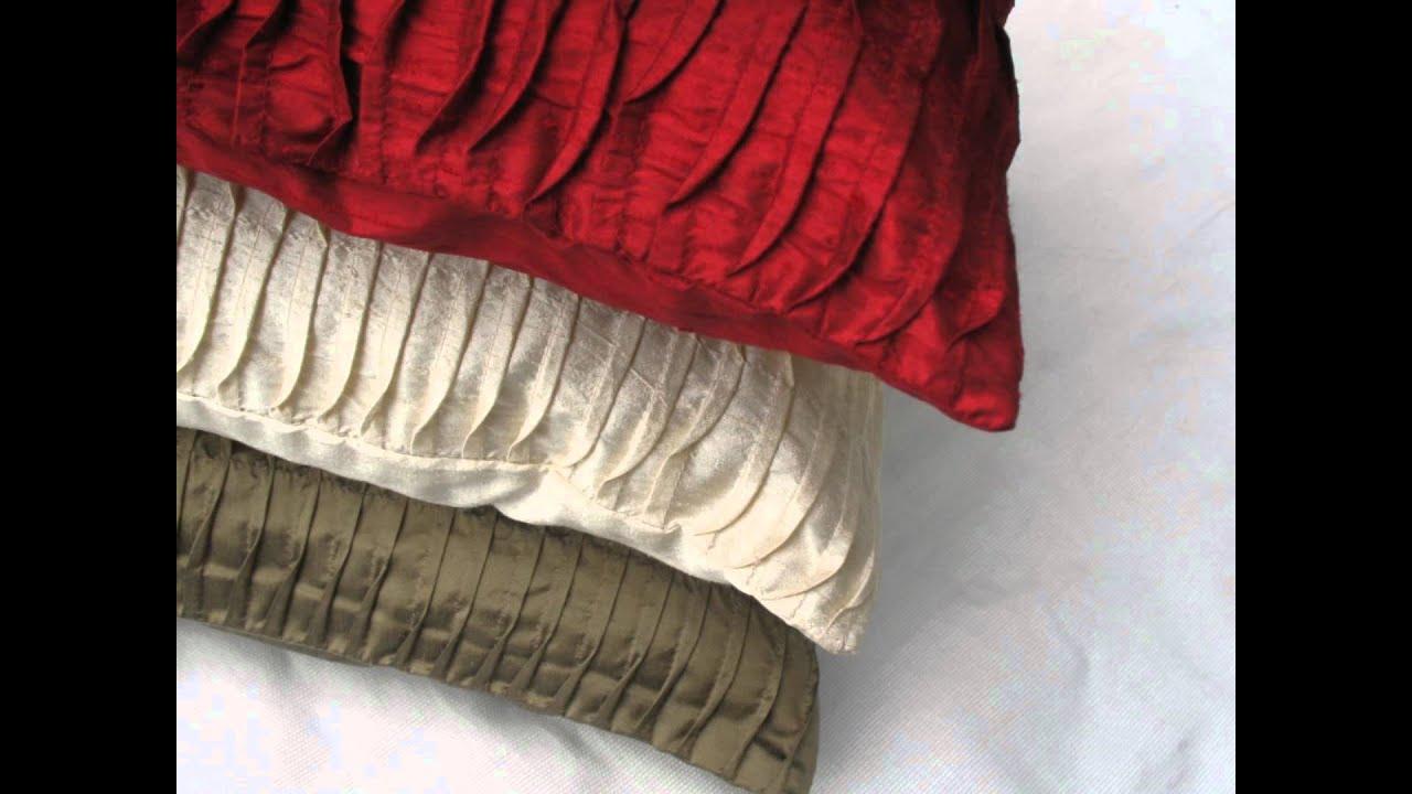 How To Make Decorative Home Decor Pillows : Comfy Heaven Throw Pillows and Home Decor - YouTube