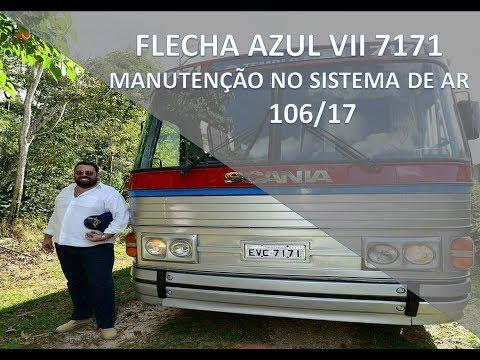 CMA FLECHA AZUL VII 7171 - Manutenção no Sistema de Ar