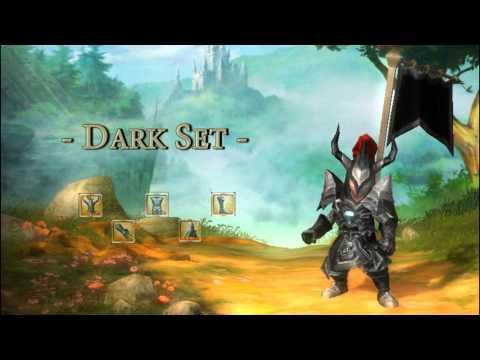 Review of Dwaft's Stats / Dark Set / Ammon Set - Drakensang Online (Thailand)
