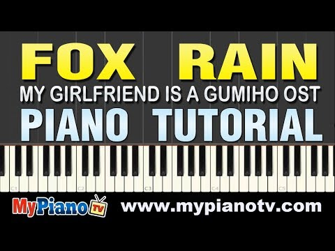 [piano Tutorial] Lee Sun Hee 이선희 - Fox Rain 여우비 (my Girlfriend Is A Gumiho Ost) video
