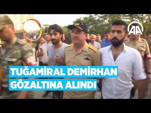 Mersin Garnizon ve Akdeniz Bölge Komutanı Tuğamiral Demirhan gözaltına alındı