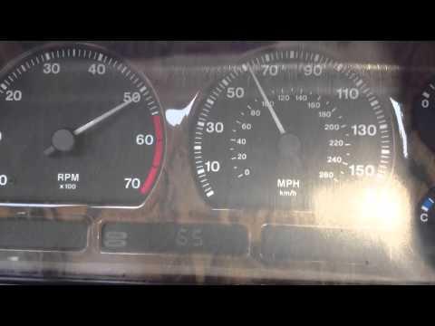 Jaguar XJ40 3.2S 0-140 acceleration