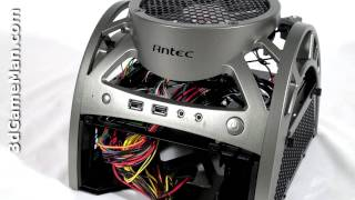 #1074 - Antec Mini Skeleton 90 Case Video Review