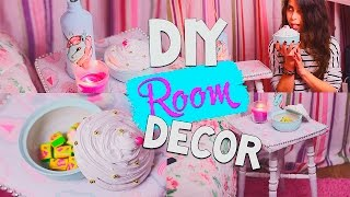 DIY: Sweet Room Decor/ Сладкий декор комнаты/Tumblr Inspired|Fosssaaa