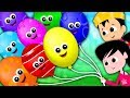 Rainbow Balloons Song Learn Colors Colors Song Nursery Rhymes Song For Kids mp3